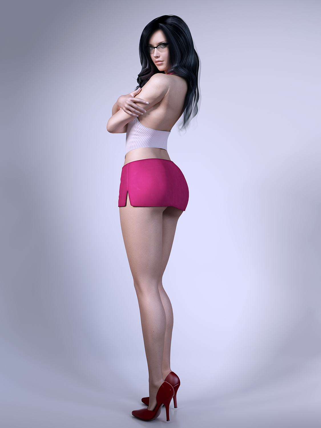 Sexy girls in 3d models sexy realistic girls