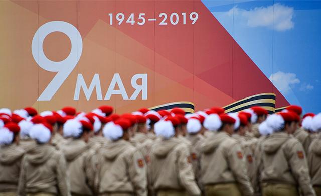 Как Москва празднует 74-ю годовщину победы в Великой Отечественной войне