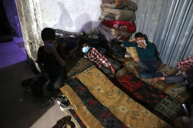 Химическая атака ивоздушный удар, множество погибших— Обострение вСирии