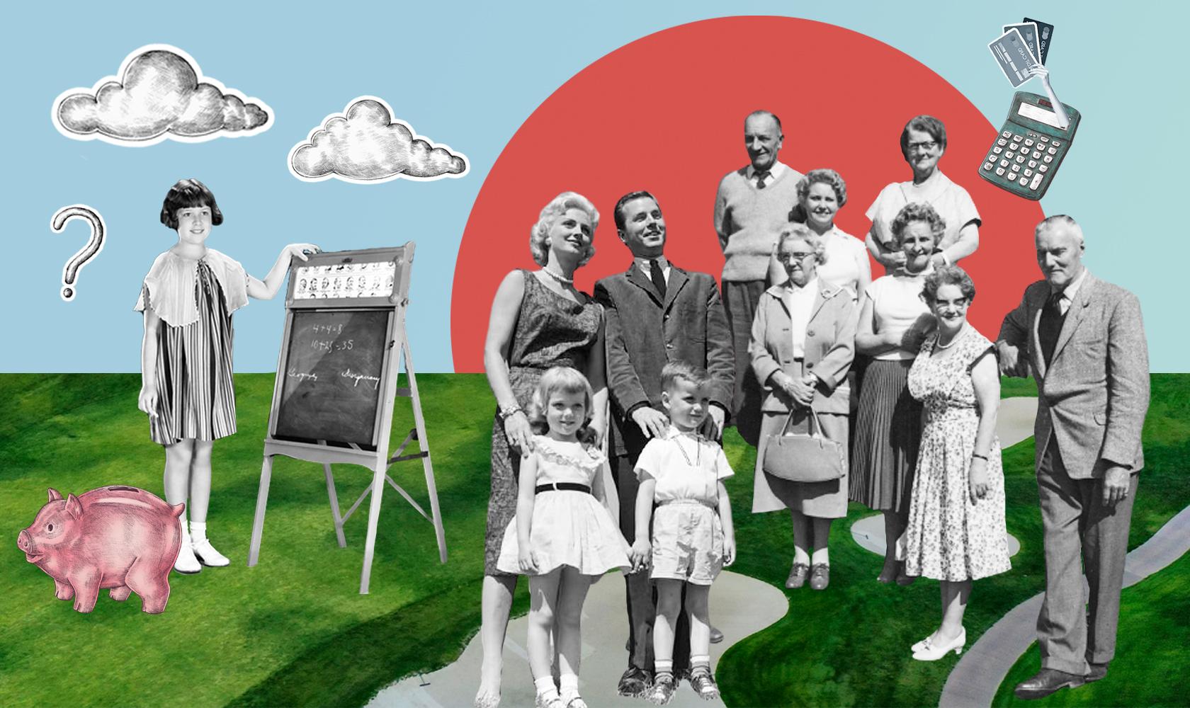 Как ваша семья распоряжается финансами? Тест